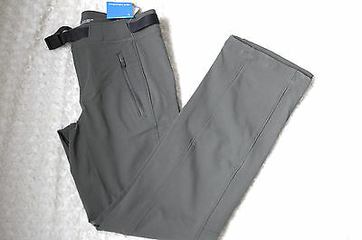 Columbia Women's Maxtrail Pant Green Omni Shield Hiking Outdoor Full Leg Size S