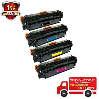4PK Combo Set Toner Cartridges for Canon131 , Canon 131A,Canon 131X, MF8280CW
