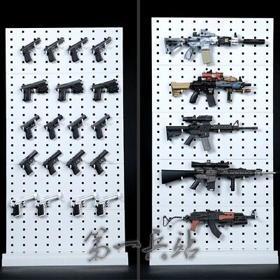 1//6 Scale Modular Weapons Display Wall Show Storage Stand for Gun Rack Models
