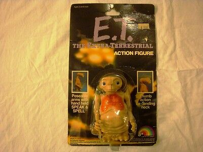 Et The Extra-Terrestrial Lot Action Figures, Game #1205, 1210, 1215 Ljn 1982 New
