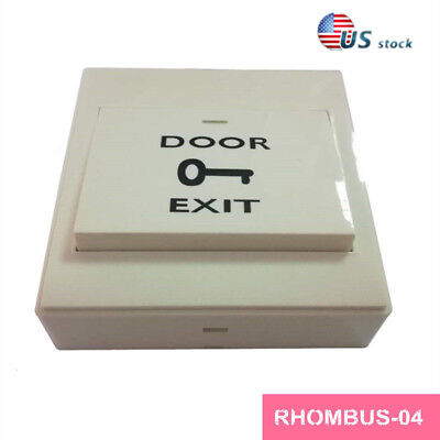 86MM electric box Plastic Switch,Exit Button,Access control switch/PUSH Button