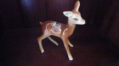Babycham Miniture In The Shape Of A Deer Empty
