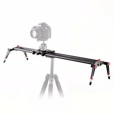 "Fotga 80cm/32"" Profi Carbon Fiber Slider Dolly Video Stabiliser"