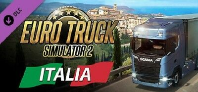 Euro Truck Simulator 2 - Italia-- PC Global Play Not Key/Code - Günstigst