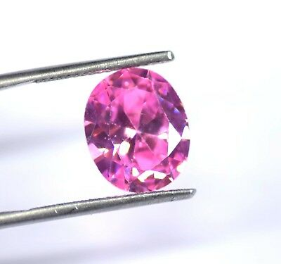 Best Offer 8 Carat EGL Certified Pink Sapphire Loose Gemstone Natural