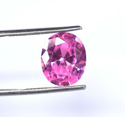 Best Offer 8.15 Carat EGL Certified Pink Sapphire Loose Gemstone Natural