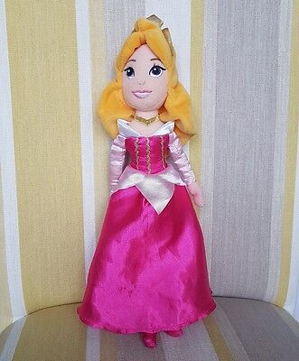 """Aurora from Sleeping Beauty 12"""" plush Soft Toy by Disney Store"""