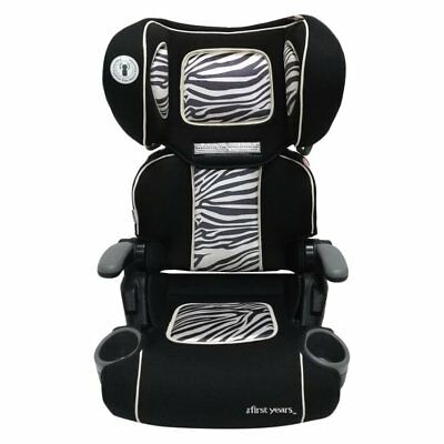 The First Years Pathway Ultra+ Booster Car Seat - Zebra