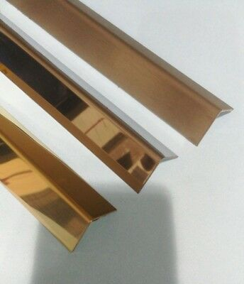 Aluminium, Stainless steel, Polished Steel, Brass, Angle Corner Protector
