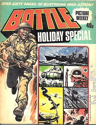 Battle Holiday Special 1979 (mid-high grade) Charley's War, Rat Pack, Johnny Red