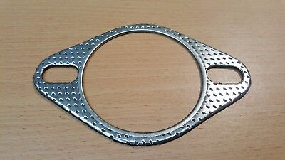 "70mm / 2 3/4"" gasket, 2 pin / bolt, aftermarket performance exhaust gasket -K270"