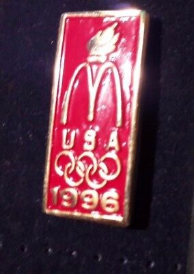 Original Mcdonald Mcdonald MCD PIN Badge-/McDonald/ USA Olympia 1996