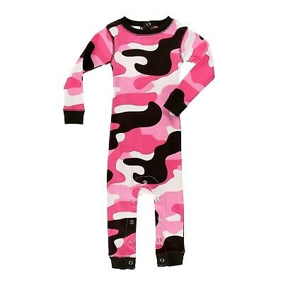 LazyOne Girls Camo Deer All-in-One Flapjack Infant