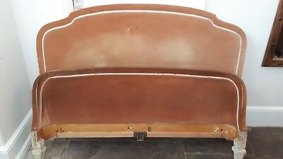 Lovely antique king size French bed