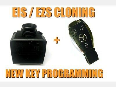 Mercedes W203 Ezs Data Cloning Eis Data Cloning  + New Key Programming Included