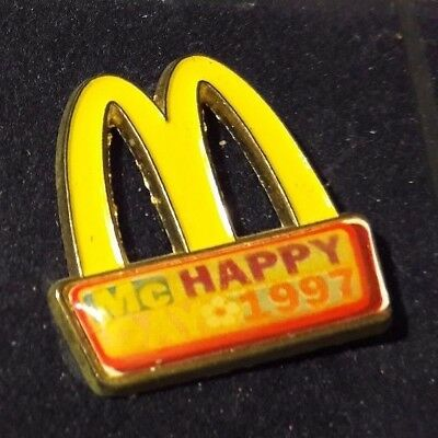 Original Mcdonald Mcdonald MCD PIN Badge-/McDonald /MC HappyDay 1997