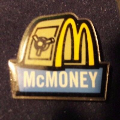 Original Mcdonald Mcdonald MCD PIN Badge-/McDonald /Mc Money