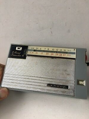 VINTAGE RADIO SHARP  BANDS  MW(-AM)-LW.  1950s-1960s VERY RARE