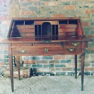 Georgian Oak Bureau Circa 1780 Antique Desk