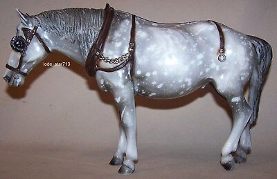 Breyer Horse Old Timer Dapple Gray Statue Toy Vintage USA