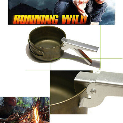 Outdoor Camping Barbecue Cook Pan Handle Holder Tools Pot Clamp Pliers Anti-hot