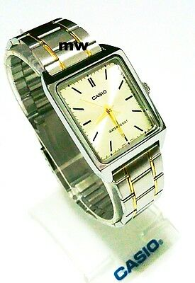 a545309df MTP-V007SG-9E Casio Men's Watch Stainless Steel Band Brand-New Analog Two