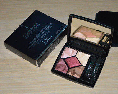 Dior 5 Couleurs Precious Rocks Eyeshadow Palette N857 Ruby holiday 2017 NIB