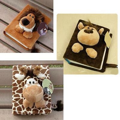 IM- 80 Pages Cartoon Fluff Soft Doll Photo Plush Album for Baby Family Rakish