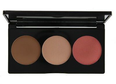 Technic Face Fix Blush, Bronze and Highlighter Trio Face Palette