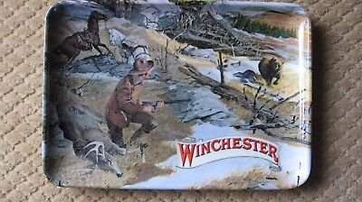 Vintage Winchester Advertising Tray Mfd.italy
