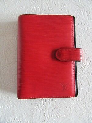 Louis Vuitton Agenda - Day Planner -Epi Leather Ca0947