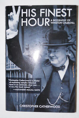 WW2 British His Finest Hour A Biography Of Winston Churchill Reference Book