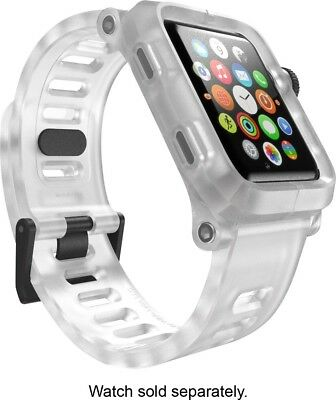 Lunatik EPIK Polycarbonate Clear Case Silicone Band Apple Watch 42mm (EPIK-005)
