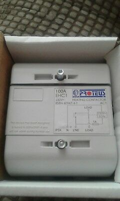 Proteus 100 amp heating contactor single phase.