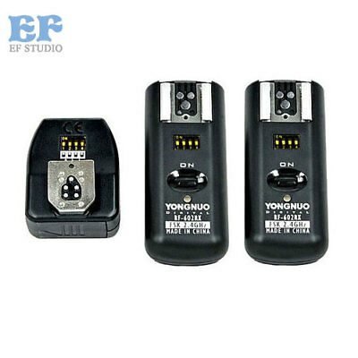 Yongnuo RF-602 RF602 2.4GHz Wireless Remote Flash Trigger Receiver for Canon