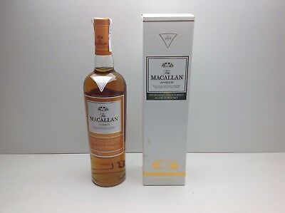 Old Bottle Whisky The Macallan Amber 70 Cl 40º