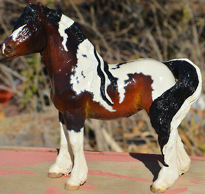 Gypsy Vanner Breyer Horse, FULLY Customized By TnT OOAK Traditional Foal size