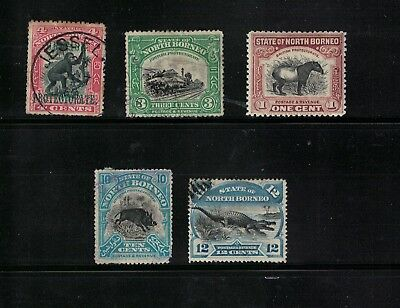 North Borneo stamps - used/mint - useful lot better cancels used/fillers