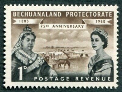 BECHUANALAND PROTECTORATE 1960 1d SG154 mint MH FG 75th Anniversary b #W51