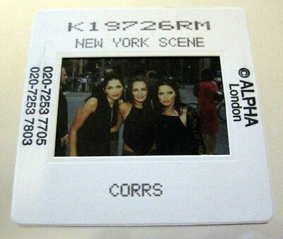 THE CORRS  35mm SLIDE photo Negative PROMO Original from UK Archive #2454