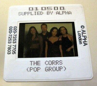 THE CORRS  35mm SLIDE photo Negative PROMO Original from UK Archive #3047