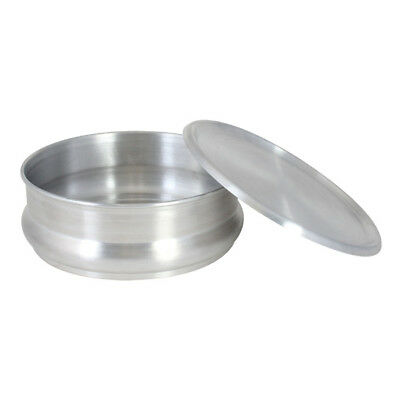 Commercial Aluminum Pizza Dough Retarding Pan 48 oz.