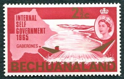 BECHUANALAND PROTECTORATE 1965 2 1/2c SG186 mint MH FG New Constitution #W51