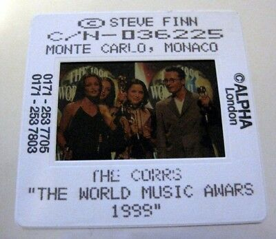 THE CORRS  35mm SLIDE photo Negative PROMO Original from UK Archive #2831