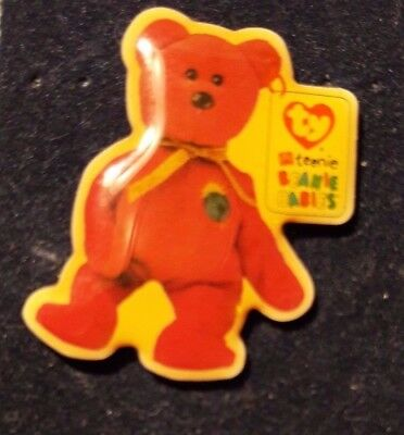Original Mcdonald Mcdonald MCD PIN Badge-Teenie Beanie Babies Teddy/Sonne inHerz