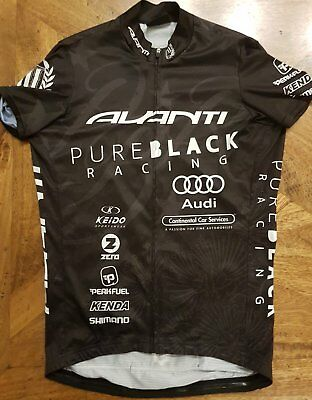 Avanti Pure Black Cycling Kit Size Medium
