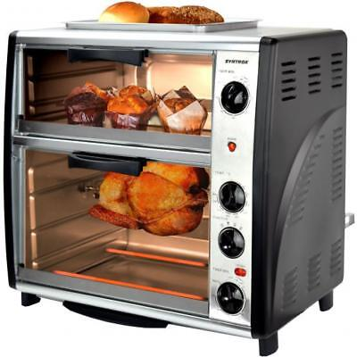 mikrowelle backofen grill hei luft 1700w standger t 33. Black Bedroom Furniture Sets. Home Design Ideas