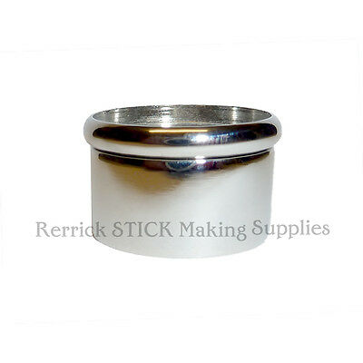 ONE NICKLE SNAP TOP COLLAR FOR WALKING STICKS 26mm