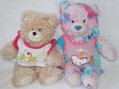 Build a Bear Clothing - Hello Kitty t-shirt and froggy t-shirt set