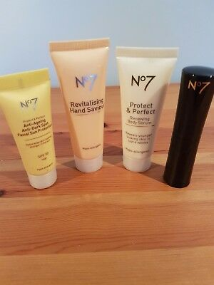 RANGE OF BOOTS No7 Products all Unused For Face And Body